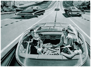 Autonomous vehicle technology from 1939! Is such a future too far-fetched? Probably not...
