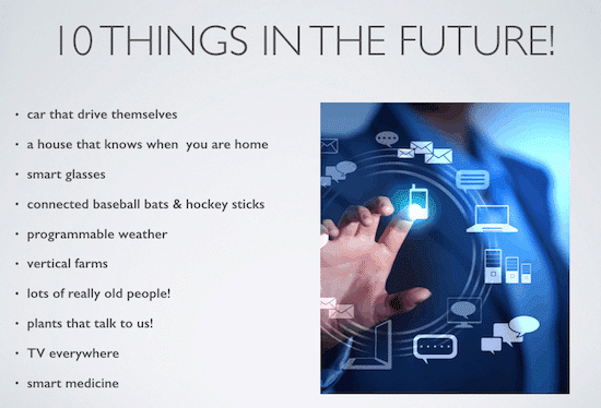 10ThingsIntheFuture