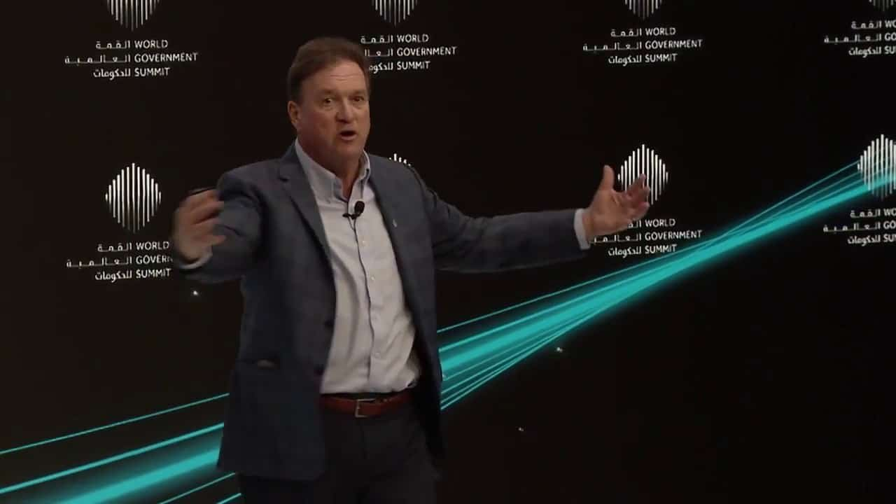 Video: Highlight clip from my talk at the World Government Summit, Dubai