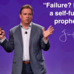 "Daily Inspiration: ""Failure? It's often a self-fulfilling prophecy!"""