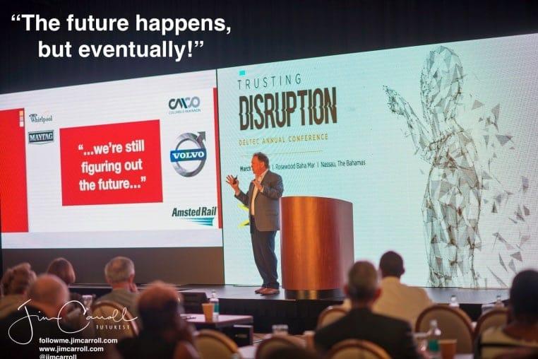 Keynote: Deltec Bank, Nassau, Bahamas - Disruption and the Next Billion Dollar Markets