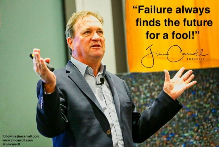 "Daily Inspiration: ""Failure always finds the future for a fool!"""