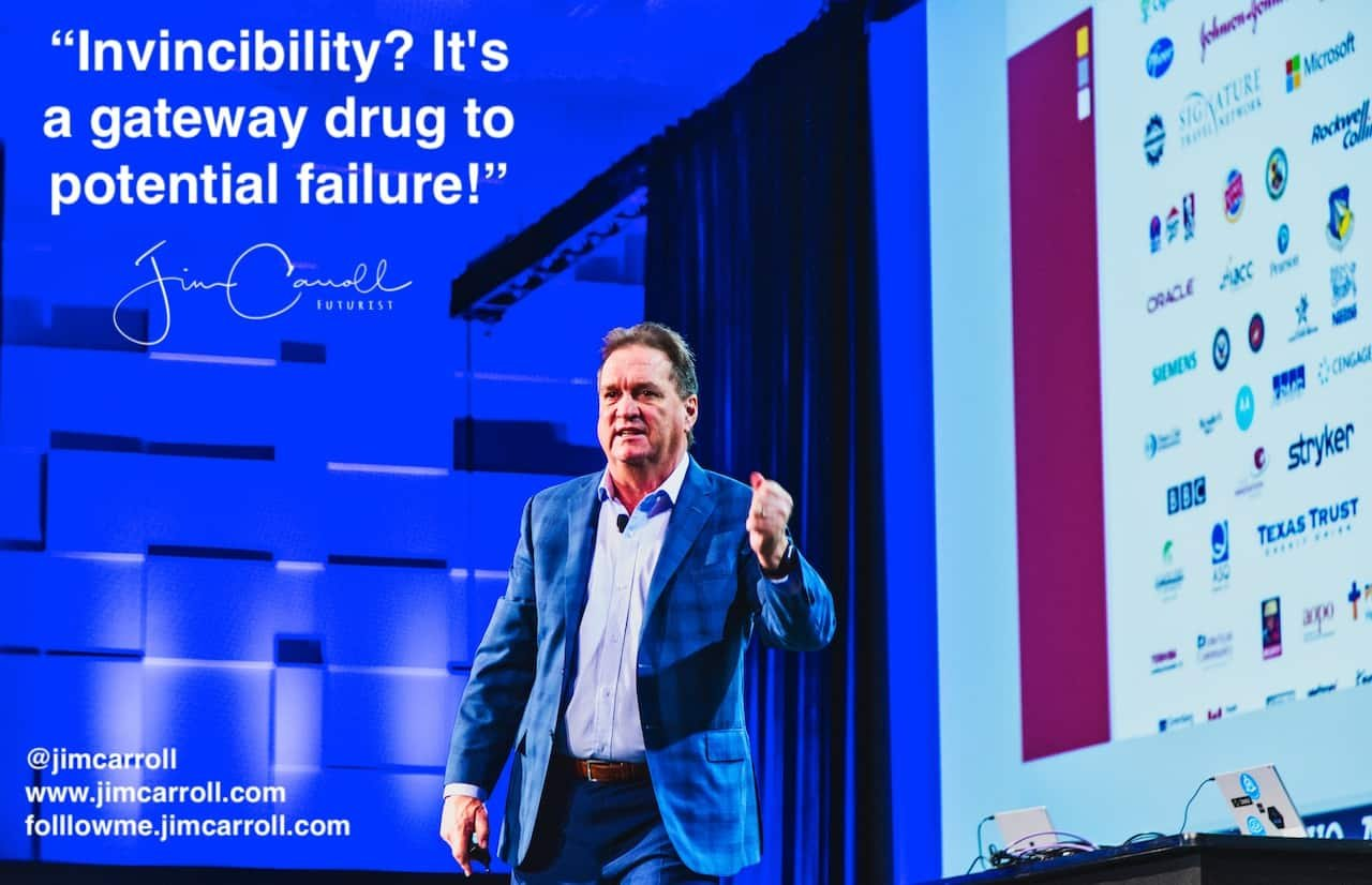 "Daily Inspiration: ""Invincibility? It's a gateway drug to potential failure!"""