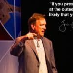 """Daily Inspiration: """"If you presume failure at the outset it's pretty likely that you will fail!"""""""
