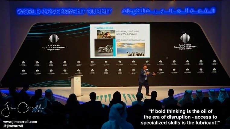 Keynote: World Government Summit, Dubai, UAE - The Transformative Trends of the 21st Century