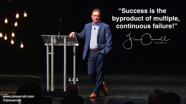 """Daily Inspiration: """"Success is the byproduct of multiple, continuous failures!"""""""