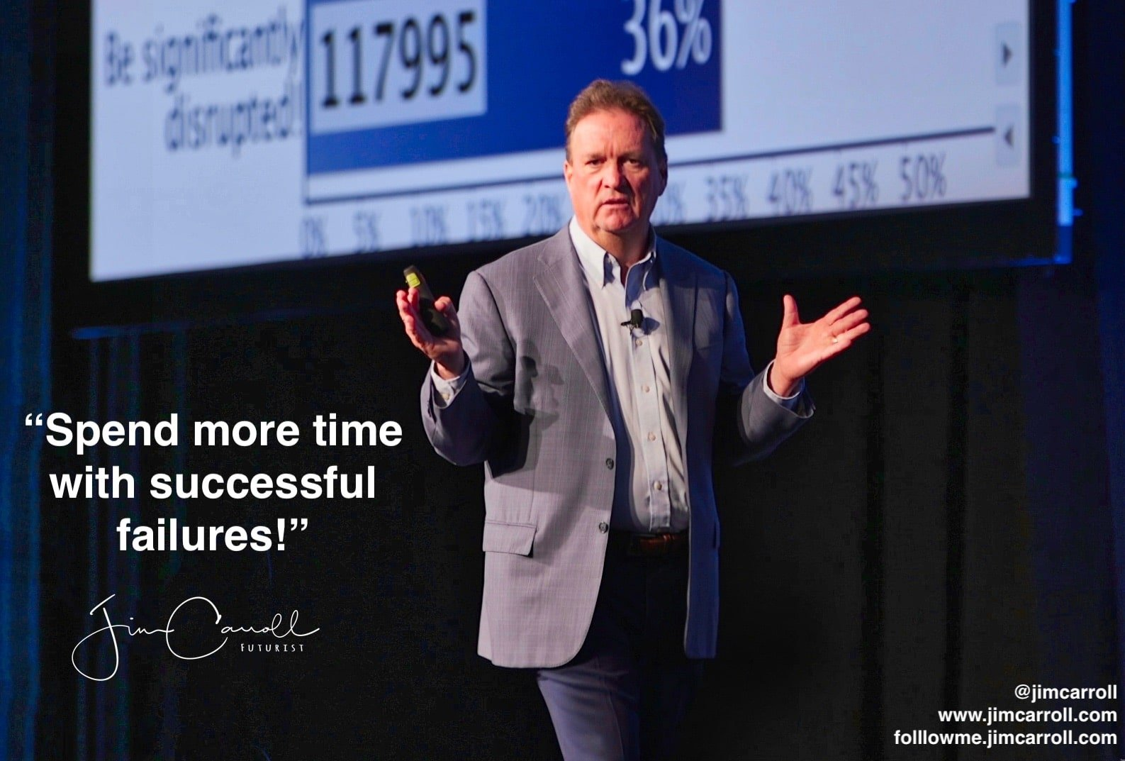 """Daily Inspiration: """"Spend more time with successful failures!"""""""