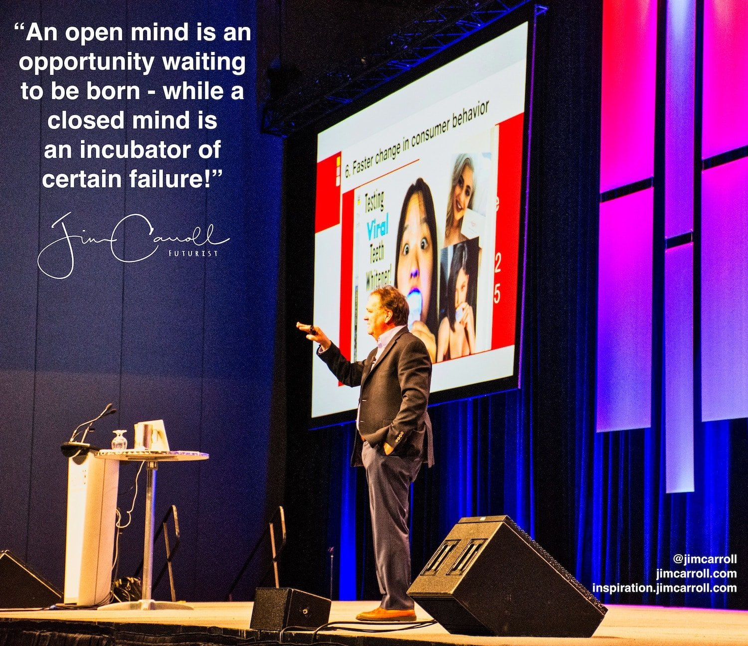 "Daily Inspiration: ""An open mind is an opportunity waiting to be born - while a closed mind is an incubator of certain failure!"""