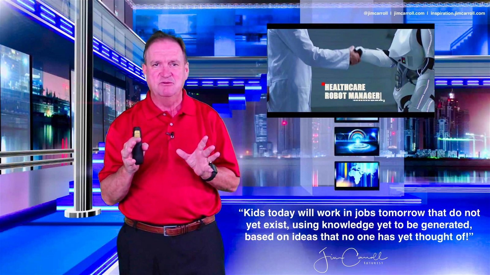"""Daily Inspiration: """"Kids today will work in jobs tomorrow that do not yet exist, using knowledge yet to be generated, based on ideas that no one has yet thought of!"""""""