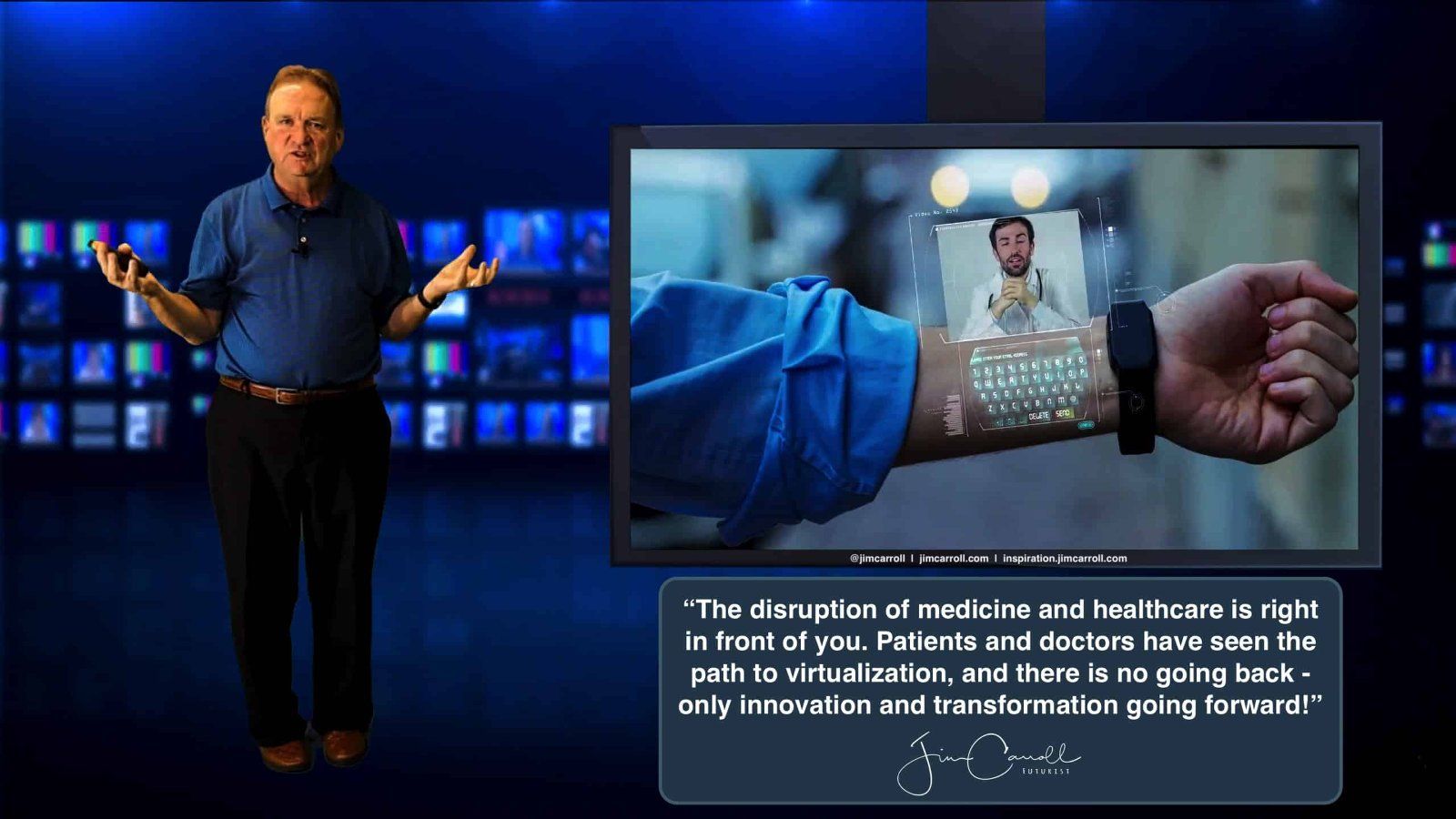 "Daily Inspiration: ""The disruption of medicine and healthcare  is right in front of you...."""