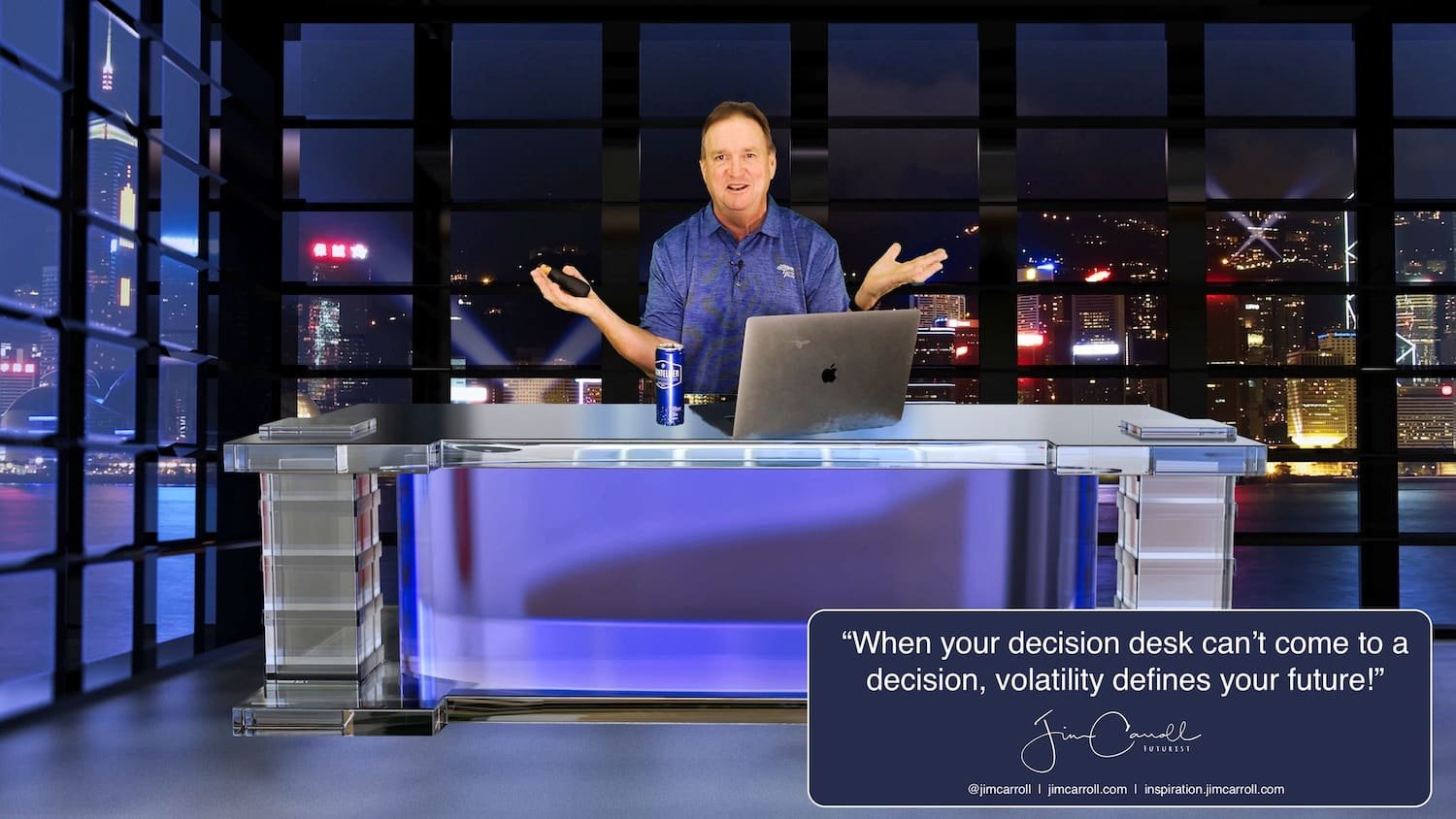 "Daily Inspiration: ""When your decision desk can't come to a decision, volatility defines your future!"""