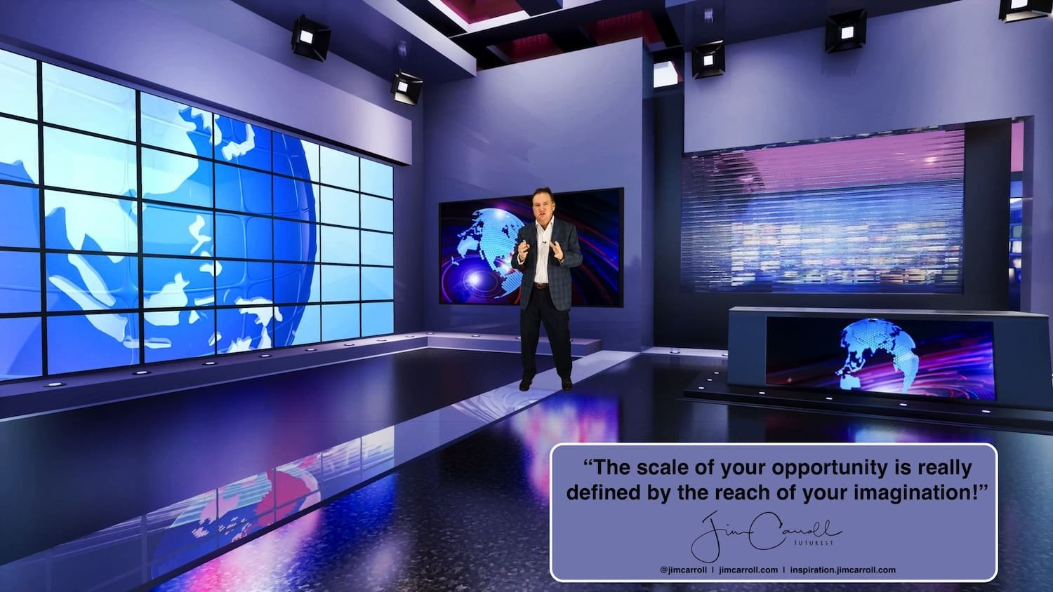 """Daily Inspiration: """"The scale of your opportunity is really defined by the reach of your imagination!"""""""