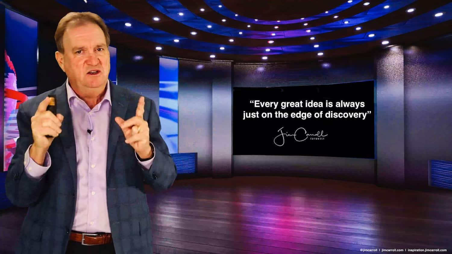 """Daily Inspiration: """"Every great idea is always just on the edge of discovery!"""""""