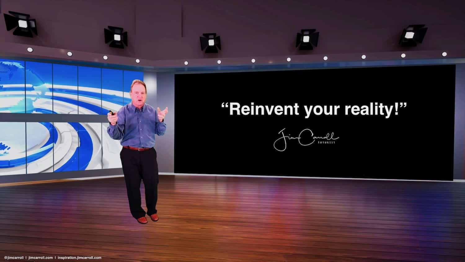 "Daily Inspiration: ""Reinvent your reality!"""