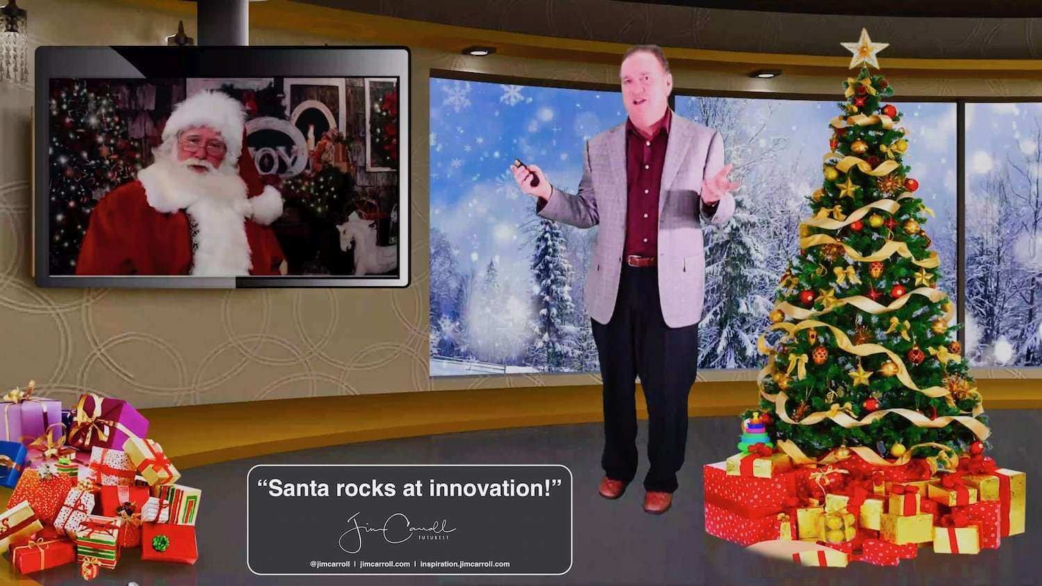 "Daily Inspiration: ""Santa rocks at innovation!"""