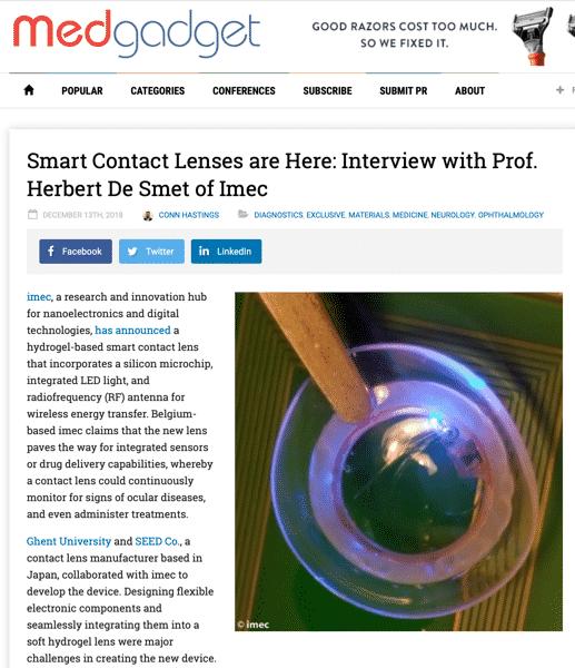 SmartContactLenses
