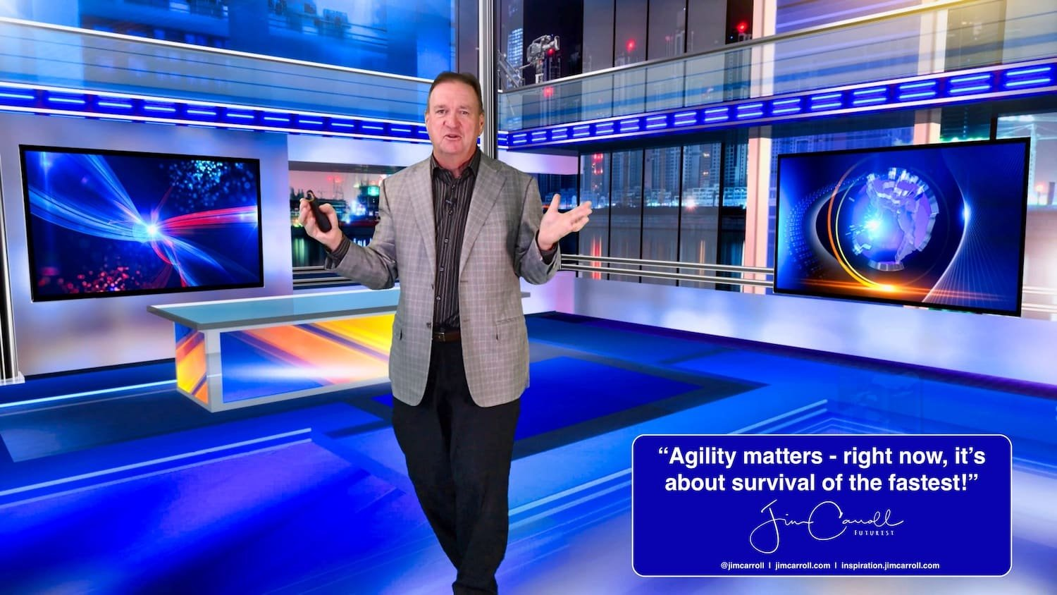 """Daily Inspiration: """"Agility matters - right now, it's about survival of the fastest!"""""""