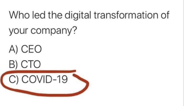 Covid Digital Transformation