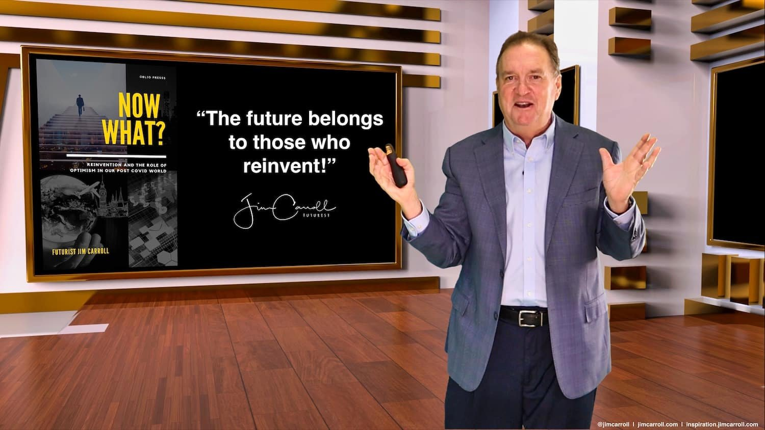 "Daily Inspiration: ""The future belongs to those who reinvent!"""