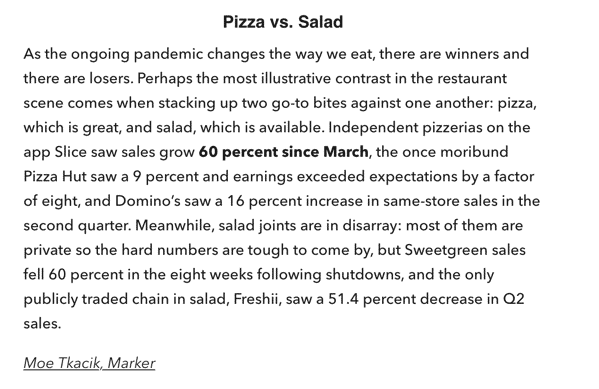Pizza Pandemic