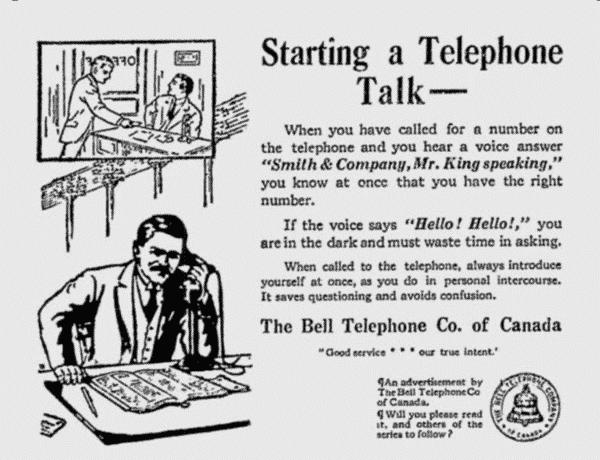 TelephoneTalking