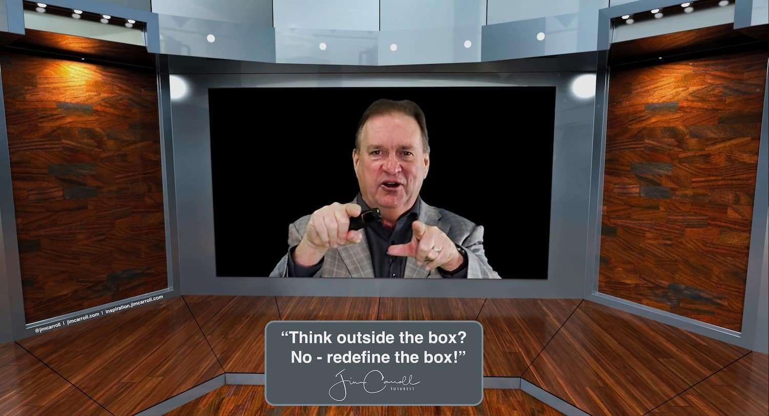 """Daily Inspiration: """"""""Think outside the box?   No - redefine the box!"""""""
