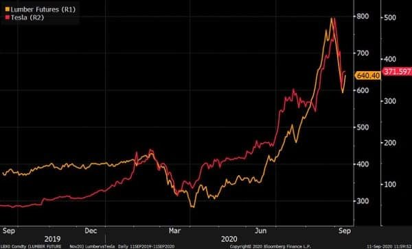 Tesla and Lumber