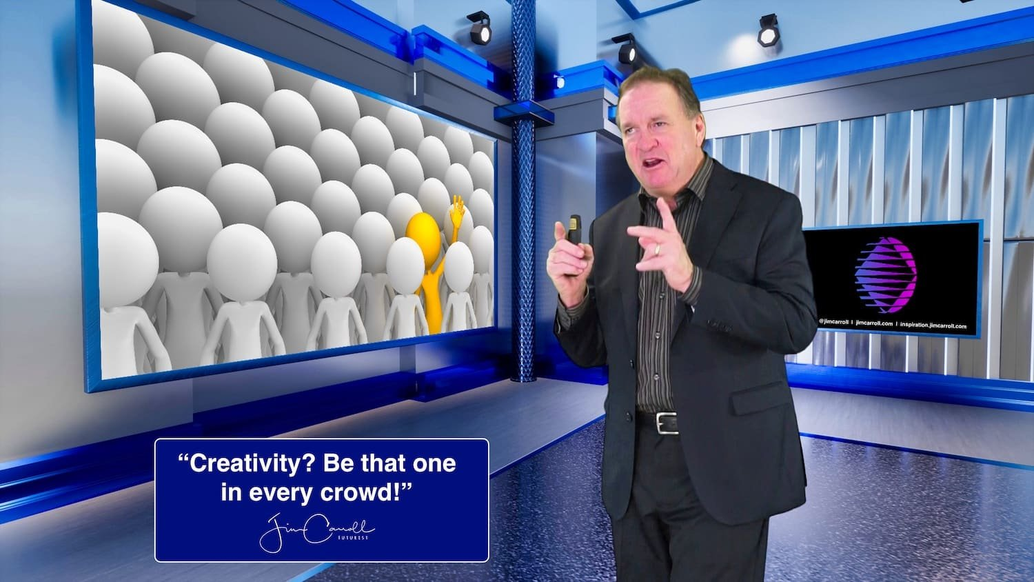 "Daily Inspiration: ""Creativity? Be that one in every crowd!"""