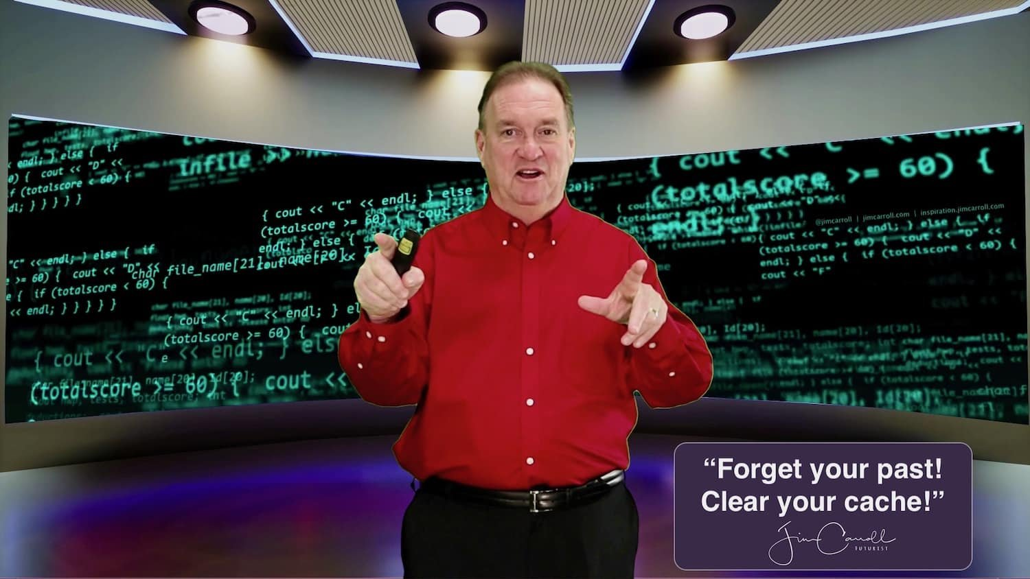 """Daily Inspiration: """"Forget your past! Clear your cache!"""""""