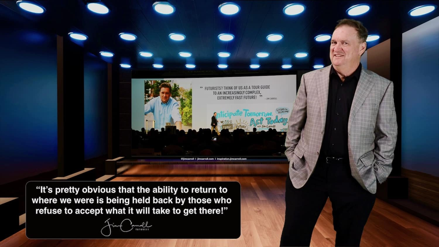 """Daily Inspiration: """"It's pretty obvious that the ability to return to where we were is being held back by those who refuse to accept what it will take to get there!"""""""