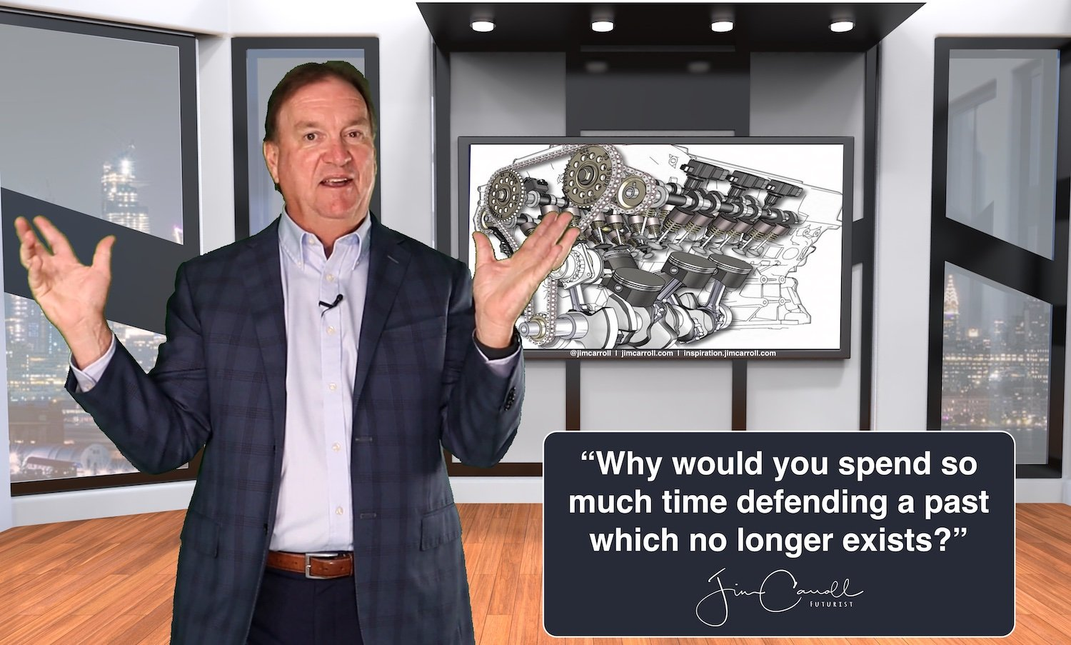 """Daily Inspiration: """"Why would you spend so much time defending a past which no longer exists?"""""""