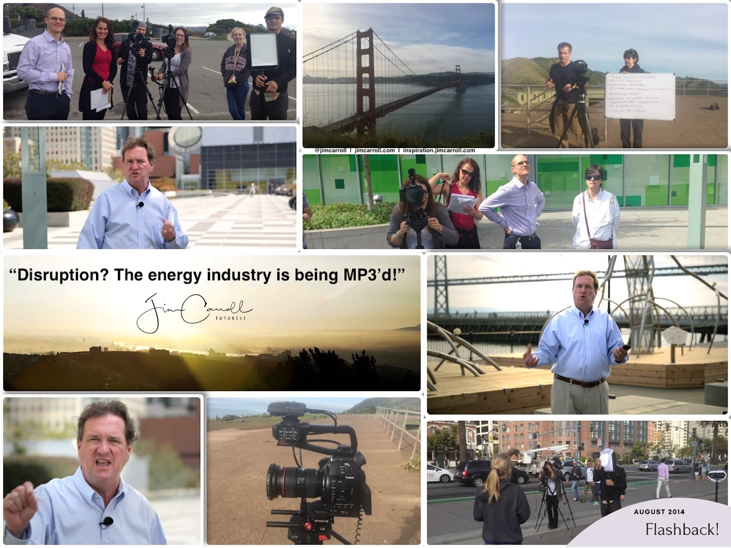 """Daily Inspiration: """"Disruption? The energy industry is being MP3'd!"""""""
