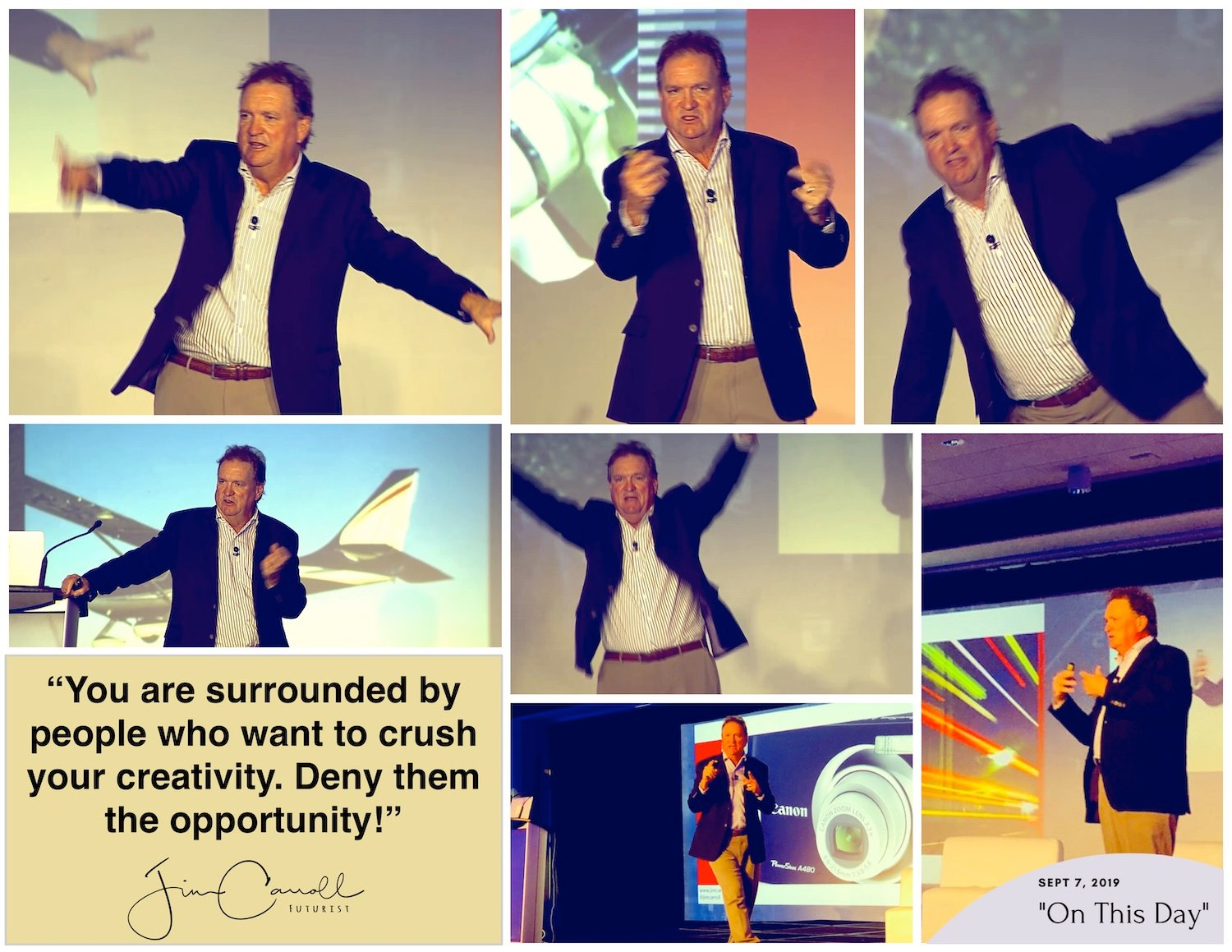 """Daily Inspiration: """"You are surrounded by people who want to crush your creativity. Deny them the  opportunity!"""""""