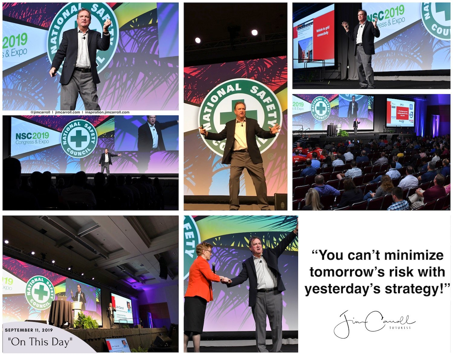 """Daily Inspiration - """"You can't minimize tomorrow's risk with yesterday's strategy!"""""""